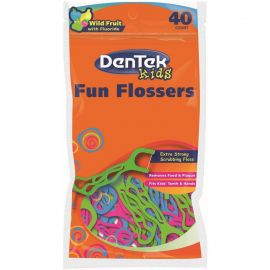 Dentek Childrens Fun Flosser - 40 FlossesPer Pack