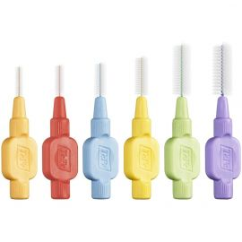TePe Interdental Extra Soft Brushes - Mixed - 8 Brushes Per Pack