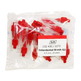 Tepe Angle Interdental Brushes Red Pack Of 25