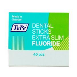TePe X-Slim With Fluoride Dental Wood Sticks - Pack Of 40