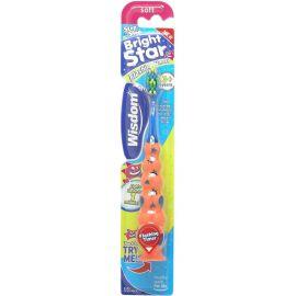 Wisdom Step By Step Bright star Flashing Toothbrush