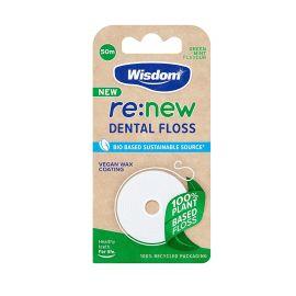 Wisdom re:new Dental Floss 50m
