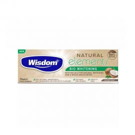 Wisdom Natural Elements Bio Whitening & Coconut Mint Oil Toothpast 75Ml