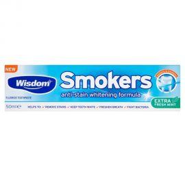 Wisdom Smokers Whitening Anti-Stain Toothpaste 50ml