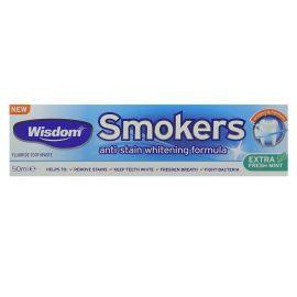 Wisdom Smokers Whitening Anti-Stain Toothpaste 50ml