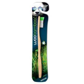 WooBamboo Medium Adult Toothbrush