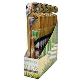 WooBamboo Kid's Sprout Toothbrush -  Twin Pack