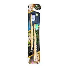 WooBamboo Kid's Sprout Toothbrush - Pack Of 2