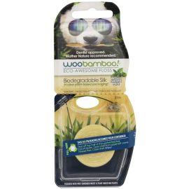 WooBamboo Eco Floss Waxed Natural Mint -  37.5 Metres